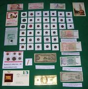 Huge Auction Only Coins Currency Gold Silver Collectibles