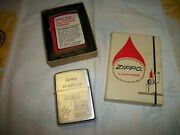 Vtg. 1968 Zippo Vietnam Snoopy As Red Baron Dirty Talk/box And Maybe Unfired