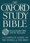 The Oxford Study Bible Revised English Bible With Apocrypha