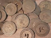 Lot Of 500 Mta Mass Transit Administration Tokens Coins Assorted Variety