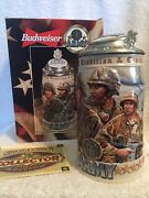 Budweiser Honoring Tradition And Courage Series Army Stein Cs357