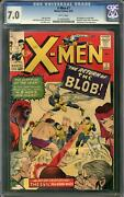 X-men 7 Cgc 7.0 W 2nd Appearance Of The Blob