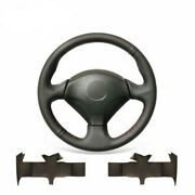 Hand Stitch Pu Leather Steering Wheel Cover For Honda S2000 Civic Si Insight