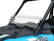Spike Front Clear Half Windshield For Polaris Rzr 1000 2019 77-4450