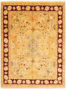 Hand-knotted Carpet 9and0392 X 12and0391 Traditional Vintage Wool Rug...discounted