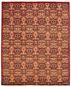 Hand-knotted Carpet 7and03911 X 9and0397 Traditional Transitional Wool Rug