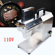 Commercial Electric Meat Tenderizer Steak Machine Stainless Steel 750w 110v New