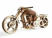 Bike Vm-02 Mechanical 3d Wooden Gear Puzzles Building Toys For Kids Gift