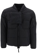 New Stone Island Shadow Project Down Vest-jacket In Cotton Poplin And Nylon Mo73