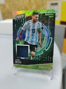 2017 Panini Cyber Monday Lionel Messi Patch Magnetic Fur 10/10 Ssp Jersey Rare