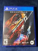 Need For Speed Hot Pursuit Remastered Ps4 - Sealed Brand New In Hand