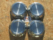 1980and039s-90and039s Dodge Pickup Truck Van 1/2 Ton Poverty Dog Dish Hubcaps Set Of 4