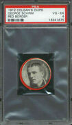 1912 E270 Colganand039s Chips Red Border George Schirm Psa 4 Birmingham Barons