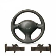 Hand-sewn Genuine Leather Steering Wheel Cover For Honda S2000 Civic Si Insight