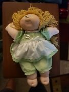 1978/1982 Original Cabbage Patch Kids Doll Xavier Roberts Hand Signed Og Clothes