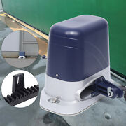 Automatic Sliding Gate Opener 110v Door Stop Motor Remote Control High Quality