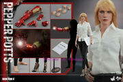 Hot Toys – Mms310 – Iron Man 3 1/6th Scale Pepper Potts Action Figure Toy Stock