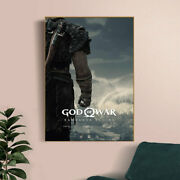 God Of War Poster Pc Xbox Ps4 Video Games Prin Oster Wall Painting Art Home D
