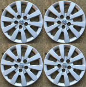 4 New Fits 2013-2017 Nissan Leaf 16 Hubcaps Wheel Covers 53089 Wheels