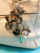Handmade Purse Keyfob Charms Keychain 4 Coach And Other Designer Purses Dragons