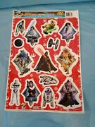Holiday Star Wars Winter/christmas 14 Static Cling Window Decorations