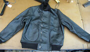 Lost Worlds N.o.s. Usa Black Horsehide Deck Jacket 38r Brand New Was 1250