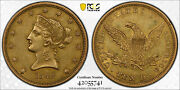 Avc- 1842 Small Date 10 Gold Liberty Eagle Pcgs Xf45 Cac - 18623 Minted