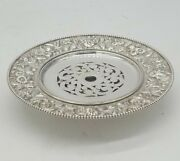 S. Kirk And Son Sterling Silver Repousse Butter Dish