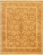 Vintage Tribal Area Rug 8and0391 X 9and03910 Authentic Oushak Hand Knotted Wool Carpet