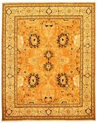 Hand-knotted Carpet 9and0393 X 11and0399 Traditional Vintage Wool Rug