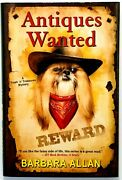 Antiques Wanted A Trash And039nand039 Treasures Mystery By Barbara Allan Brand New
