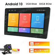 9 Inch Android 10 Car Stereo Nav Gps 4core 2+32gb Head Unit With 4g Lte Dsp Cam