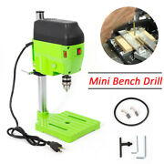 Electric Drill Press Stand Small Power Drilling Tool Drill Press Machine Bench