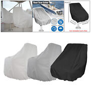 Boat Seat Cover Folding Heavy-duty Uv-resistant Helm Chair Cover Furniture