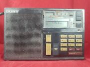 Sony Icf 7600 Ds Shortwave Radio Am Fm Mw Sw Works Wth Issues Used Condition