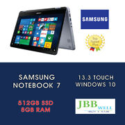 Samsung 7 Spin 2-in-1 13.3 Touch Intel Core I5 8th 8gb Ram 512gb Ssd Silver