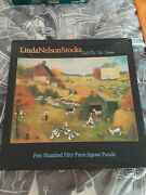 Ceaco 550 Piece Puzzle Fall On The Farm By Linda Nelson Stocks 2323-2