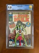 Savage She-hulk 1 Cgc 9.8 - White Pages - 1st Appearance Of She-hulk - Marvel