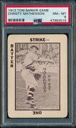 Christy Mathewson 1913 Tom Barker Game Psa 8 Nm-mt New York Giants Hof Prewar