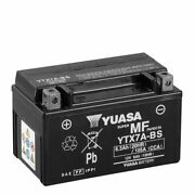 Motorcycle Battery Yuasa Ytx7a-bs For Kymco Sc 125 Super 8 - 20082014