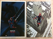 The Amazing Spiderman 1 And 2 Exclusive Limited Imax Movie Poster Set