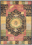 Hand-knotted 6and0393 X 8and0398 Shalimar Casual Transitional Wool Rug