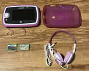 Leapfrog Leappad 3 Pink With 2 Games , Case, And Headphones-b31