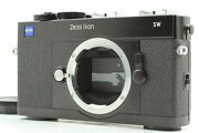 [top Mint] Zeiss Ikon Sw 35mm Film Camera Black For Leica M Mount From Japan