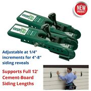 Lap/fiber Cement Siding Installation Clamps Plastic Tool Hardie Plank Board New