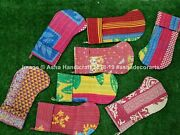 Wholesale 10 Pc Lot Indian Hippie Recycled Vintage Kantha Christmas Stockings
