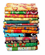 Ethnic Wholesale Lot Of 10pc Vintage Handmade Kantha Quilts,reversible Throws