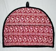 Indian Handmade Kantha Embroidered Floral Tea Pot Cozy Cover Decorative 50pc Lot