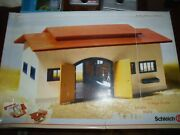 Schleich Horse Stable 40165 Wooden Roof Retired 2000 Made In Germany Sold As Is