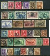 Us Stamps Scott Bet. 219//307 19th And 20th Century Issues B415 15